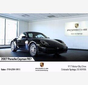 2007 Porsche Cayman for sale 101410898