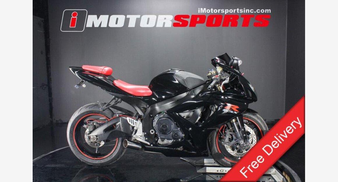 2007 Suzuki GSX-R600 for sale 200642450