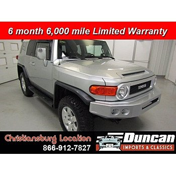 2007 Toyota FJ Cruiser for sale 101013091