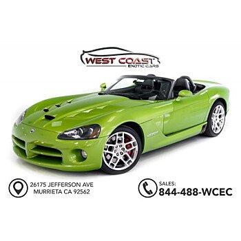 2008 Dodge Viper SRT-10 Convertible for sale 101103018