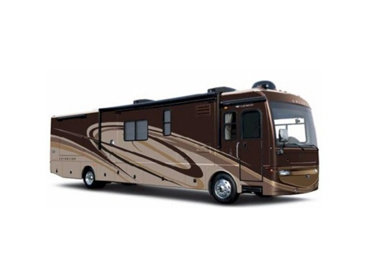 2008 Fleetwood Excursion 40X specifications