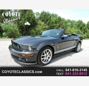 2008 Ford Mustang Shelby GT500 Convertible for sale 100969085