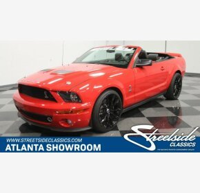 2008 Ford Mustang Shelby GT500 Convertible for sale 101180006