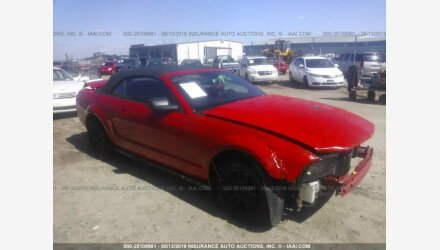 2008 Ford Mustang Convertible for sale 101192416