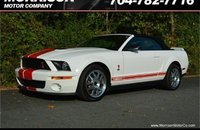 2008 Ford Mustang Shelby GT500 Convertible for sale 101216279