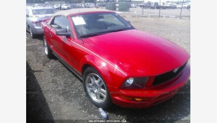 2008 Ford Mustang Convertible for sale 101224634