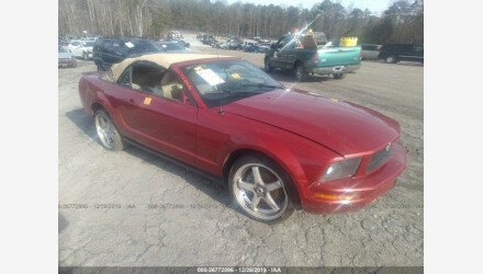 2008 Ford Mustang Convertible for sale 101291254