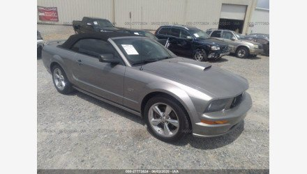 2008 Ford Mustang GT Convertible for sale 101341644