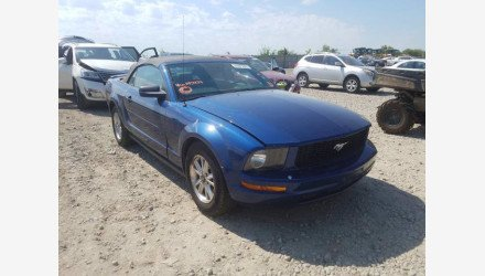 2008 Ford Mustang Convertible for sale 101344149