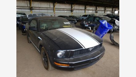 2008 Ford Mustang Convertible for sale 101344609