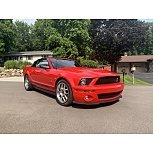 2008 Ford Mustang Shelby GT500 Convertible for sale 101570548
