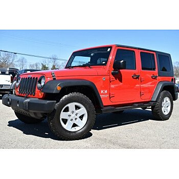 2008 Jeep Wrangler 4WD Unlimited X for sale 101057923