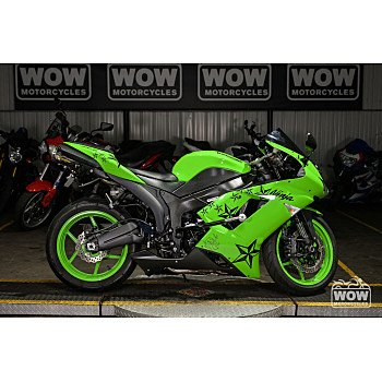 2008 Kawasaki Ninja ZX-6R for sale 201069390