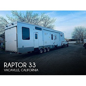 2008 Keystone Raptor for sale 300223800