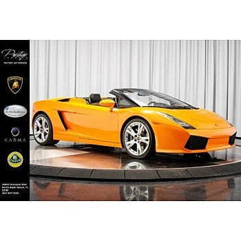 2008 Lamborghini Gallardo Spyder for sale 101077298