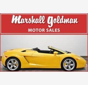 2008 Lamborghini Gallardo Spyder for sale 101112441