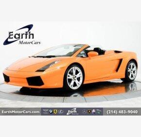 2008 Lamborghini Gallardo Spyder for sale 101211930