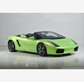 2008 Lamborghini Gallardo Spyder for sale 101301917