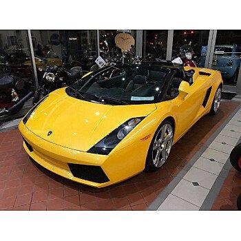 2008 Lamborghini Gallardo Spyder for sale 101519844
