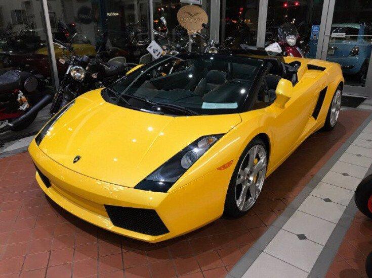2008 Lamborghini Gallardo Spyder for sale 101590442