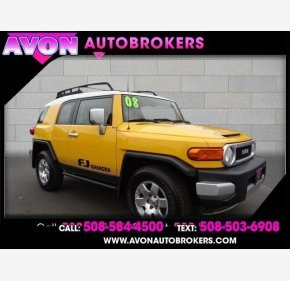 2008 Toyota FJ Cruiser 4WD for sale 101332062
