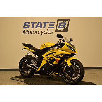 2008 Yamaha YZF-R6 for sale 200651749