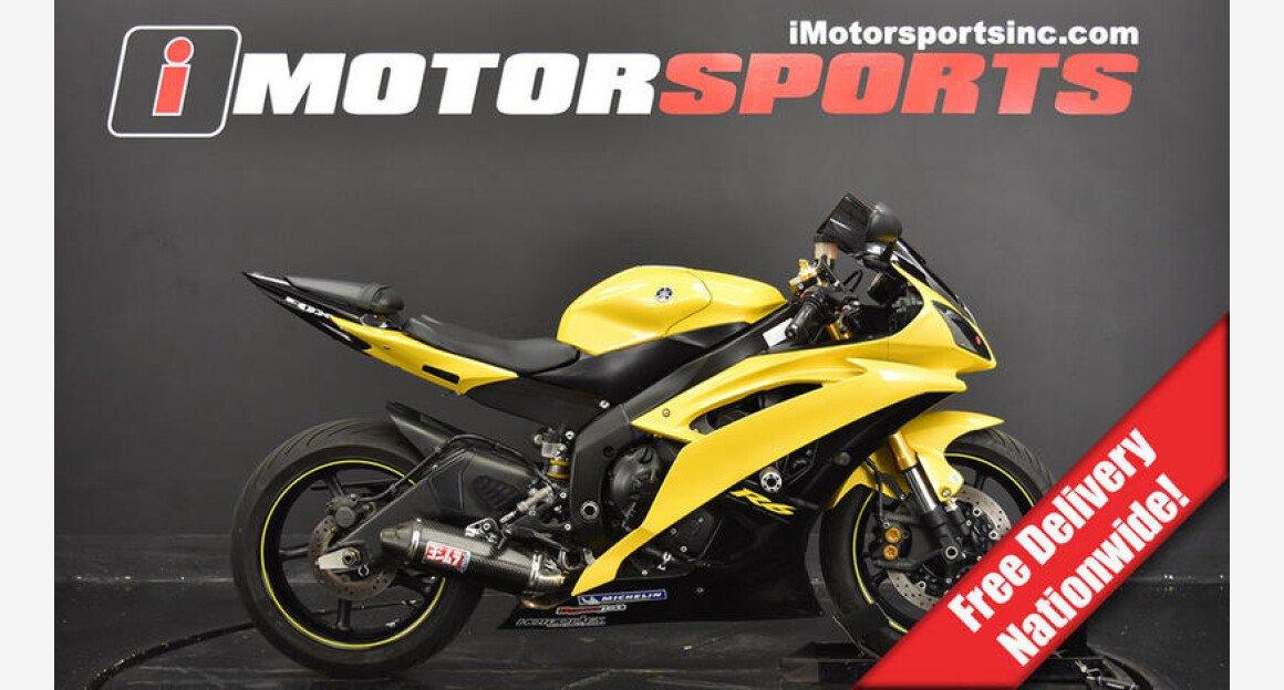 2008 Yamaha YZF-R6 for sale 200663193