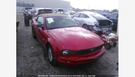 2009 Ford Mustang Convertible for sale 101108361