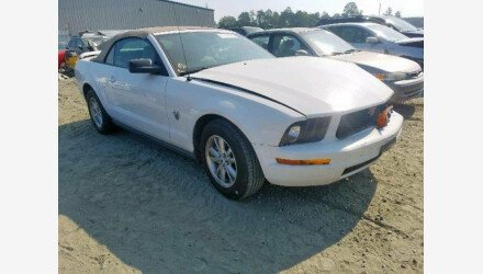 2009 Ford Mustang Convertible for sale 101222219