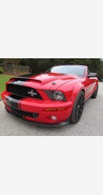 2009 Ford Mustang Shelby GT500 Convertible for sale 101405017