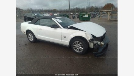 2009 Ford Mustang Convertible for sale 101408712