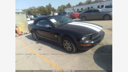 2009 Ford Mustang Convertible for sale 101413351