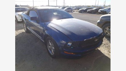 2009 Ford Mustang Convertible for sale 101443438