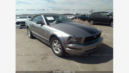 2009 Ford Mustang Convertible for sale 101483353