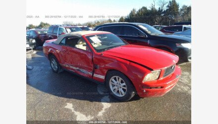 2009 Ford Mustang Convertible for sale 101488548