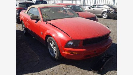 2009 Ford Mustang Convertible for sale 101494237