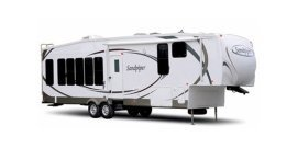 2009 Forest River Sandpiper 345QB specifications