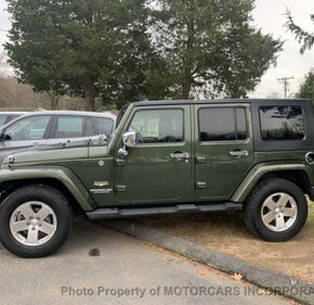 2009 Jeep Wrangler 4WD Unlimited Sahara for sale 101245713
