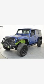 2009 Jeep Wrangler 4WD Unlimited Sahara for sale 101245768