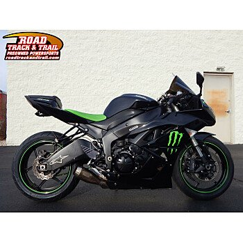 2009 Kawasaki Ninja ZX-6R for sale 200667798