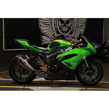 2009 Kawasaki Ninja ZX-6R for sale 200780506
