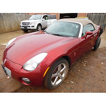 2009 Pontiac Solstice Convertible for sale 100292402