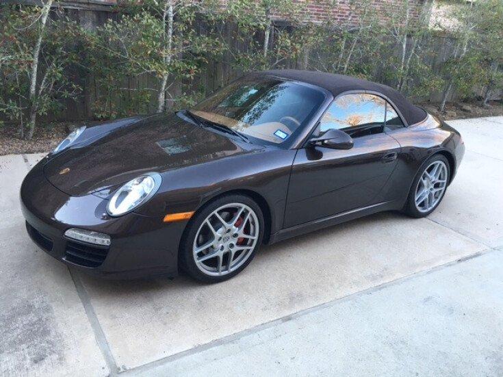 2009 Porsche 911 Cabriolet for sale 100752527