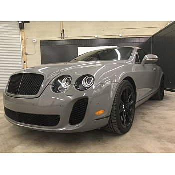 2010 Bentley Continental Supersports Coupe for sale 101127316