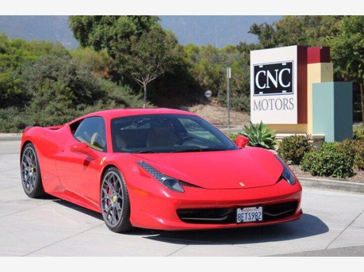 2010 Ferrari 458 Italia For Sale Near Upland California 91784 Classics On Autotrader