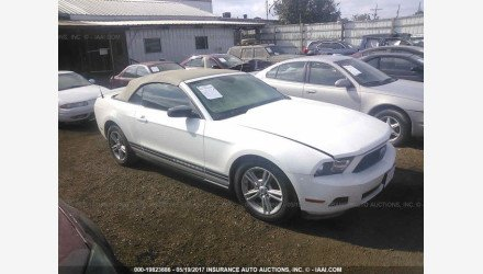 2010 Ford Mustang Convertible for sale 101109544