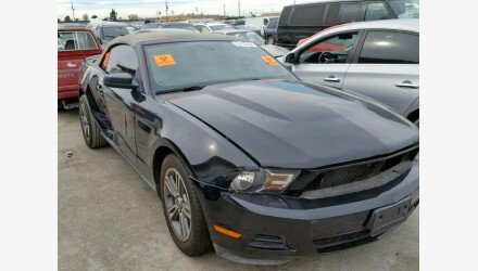 2010 Ford Mustang Convertible for sale 101112037