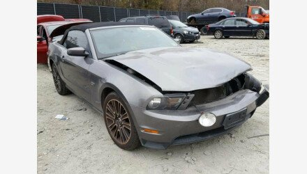 2010 Ford Mustang GT Convertible for sale 101124617