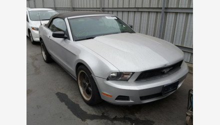 2010 Ford Mustang Convertible for sale 101126894