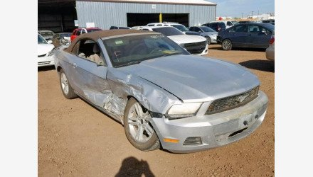 2010 Ford Mustang Convertible for sale 101126910
